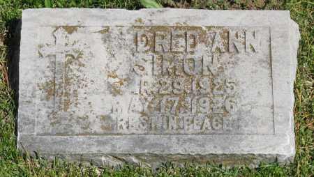 SIMON, MILDRED ANN - Faulkner County, Arkansas | MILDRED ANN SIMON - Arkansas Gravestone Photos
