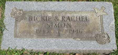 SIMON, RACHEL - Faulkner County, Arkansas | RACHEL SIMON - Arkansas Gravestone Photos