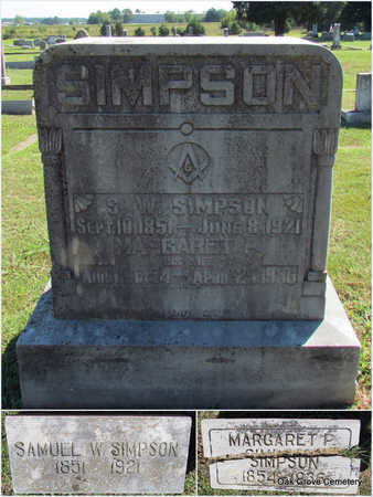 SIMPSON, SAMUEL W. - Faulkner County, Arkansas | SAMUEL W. SIMPSON - Arkansas Gravestone Photos