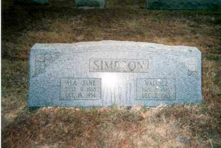 SULLIVAN SIMPSON, ALA - Faulkner County, Arkansas | ALA SULLIVAN SIMPSON - Arkansas Gravestone Photos