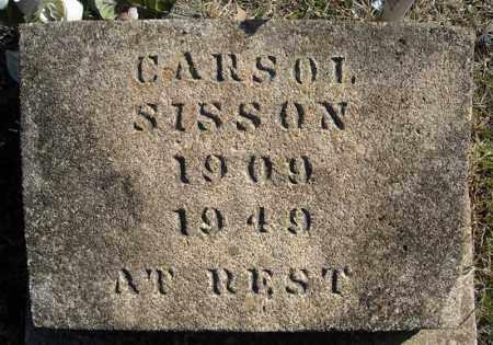SISSON, CARSOL - Faulkner County, Arkansas | CARSOL SISSON - Arkansas Gravestone Photos