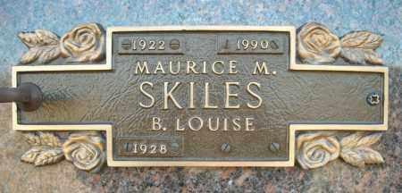 SKILES, MAURICE M. - Faulkner County, Arkansas | MAURICE M. SKILES - Arkansas Gravestone Photos