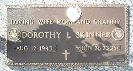 SKINNER, DOROTHY L. - Faulkner County, Arkansas | DOROTHY L. SKINNER - Arkansas Gravestone Photos
