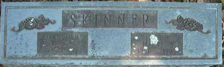 SKINNER, JOHN W. - Faulkner County, Arkansas | JOHN W. SKINNER - Arkansas Gravestone Photos