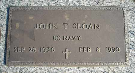 SLOAN (VETERAN), JOHN T. - Faulkner County, Arkansas | JOHN T. SLOAN (VETERAN) - Arkansas Gravestone Photos