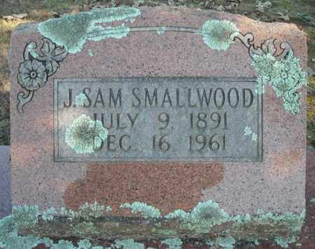 SMALLWOOD, J. SAM - Faulkner County, Arkansas | J. SAM SMALLWOOD - Arkansas Gravestone Photos