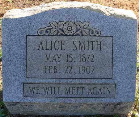 SMITH, ALICE - Faulkner County, Arkansas | ALICE SMITH - Arkansas Gravestone Photos