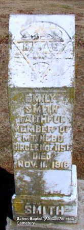 SMITH, EMILY - Faulkner County, Arkansas | EMILY SMITH - Arkansas Gravestone Photos