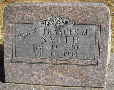 SMITH, FRANCES M. - Faulkner County, Arkansas | FRANCES M. SMITH - Arkansas Gravestone Photos