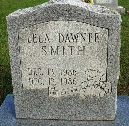 SMITH, LELA DAWNEE - Faulkner County, Arkansas | LELA DAWNEE SMITH - Arkansas Gravestone Photos