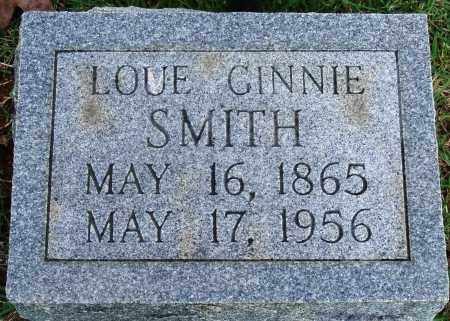 SMITH, LOUE GINNIE - Faulkner County, Arkansas | LOUE GINNIE SMITH - Arkansas Gravestone Photos