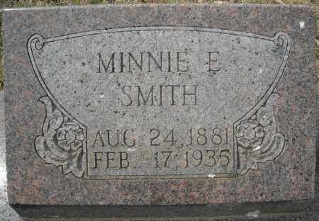 SMITH, MINNIE E. - Faulkner County, Arkansas | MINNIE E. SMITH - Arkansas Gravestone Photos