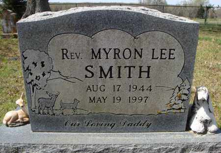SMITH, REV., MYRON LEE - Faulkner County, Arkansas | MYRON LEE SMITH, REV. - Arkansas Gravestone Photos