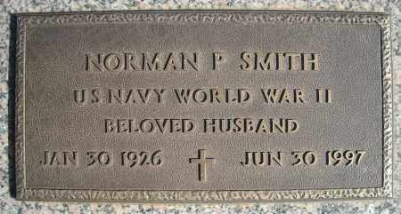 SMITH (VETERAN WWII), NORMAN P - Faulkner County, Arkansas | NORMAN P SMITH (VETERAN WWII) - Arkansas Gravestone Photos