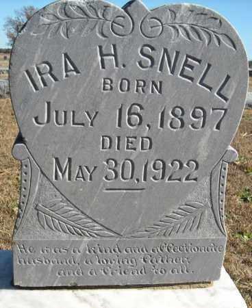 SNELL, IRA H. - Faulkner County, Arkansas | IRA H. SNELL - Arkansas Gravestone Photos