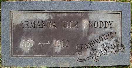 SNODDY, ARMANDA - Faulkner County, Arkansas | ARMANDA SNODDY - Arkansas Gravestone Photos