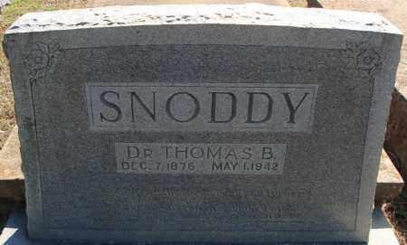 SNODDY, DR., THOMAS BURWELL - Faulkner County, Arkansas | THOMAS BURWELL SNODDY, DR. - Arkansas Gravestone Photos
