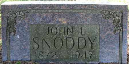 SNODDY, JOHN L. - Faulkner County, Arkansas | JOHN L. SNODDY - Arkansas Gravestone Photos