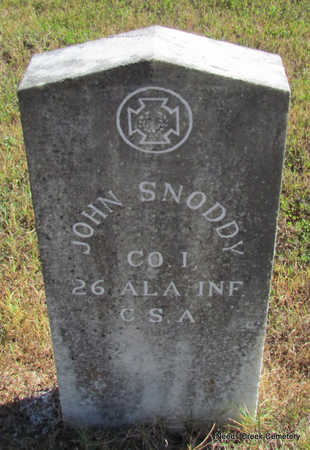 SNODDY (VETERAN CSA), JOHN - Faulkner County, Arkansas | JOHN SNODDY (VETERAN CSA) - Arkansas Gravestone Photos