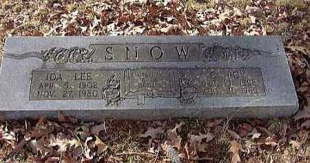 SNOW, C. ROY - Faulkner County, Arkansas | C. ROY SNOW - Arkansas Gravestone Photos