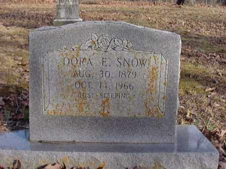 QUALLS SNOW, DORA E. - Faulkner County, Arkansas | DORA E. QUALLS SNOW - Arkansas Gravestone Photos