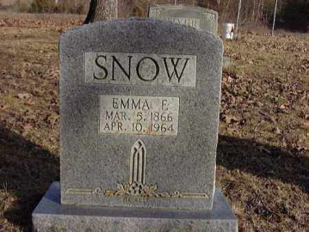 SNOW, EMMA F. - Faulkner County, Arkansas | EMMA F. SNOW - Arkansas Gravestone Photos
