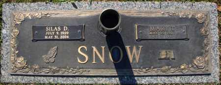 SNOW, SILAS D. - Faulkner County, Arkansas | SILAS D. SNOW - Arkansas Gravestone Photos