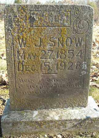SNOW, W.J. - Faulkner County, Arkansas | W.J. SNOW - Arkansas Gravestone Photos