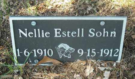 SOHN, NELLIE ESTELL - Faulkner County, Arkansas | NELLIE ESTELL SOHN - Arkansas Gravestone Photos