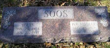FIDDLER SOOS, IVA - Faulkner County, Arkansas | IVA FIDDLER SOOS - Arkansas Gravestone Photos