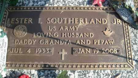 SOUTHERLAND, JR. (VETERAN), LESTER L - Faulkner County, Arkansas | LESTER L SOUTHERLAND, JR. (VETERAN) - Arkansas Gravestone Photos