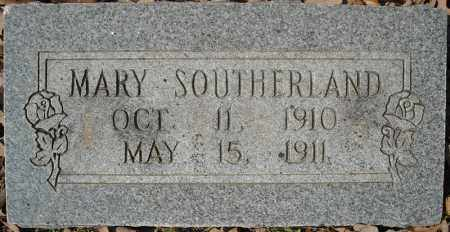 SOUTHERLAND, MARY - Faulkner County, Arkansas | MARY SOUTHERLAND - Arkansas Gravestone Photos