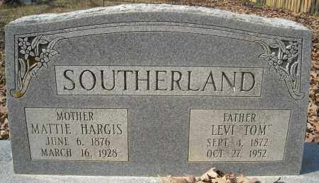 "SOUTHERLAND, LEVI ""TOM"" - Faulkner County, Arkansas 