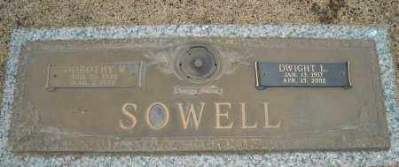 SOWELL, DWIGHT L. - Faulkner County, Arkansas | DWIGHT L. SOWELL - Arkansas Gravestone Photos