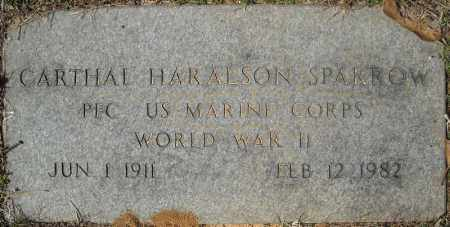 SPARROW (VETERAN WWII), CARTHAL HARALSON - Faulkner County, Arkansas | CARTHAL HARALSON SPARROW (VETERAN WWII) - Arkansas Gravestone Photos