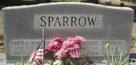 SPARROW, CARTHAL HARALSON - Faulkner County, Arkansas | CARTHAL HARALSON SPARROW - Arkansas Gravestone Photos