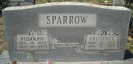 SPARROW, RUDOLPH - Faulkner County, Arkansas | RUDOLPH SPARROW - Arkansas Gravestone Photos