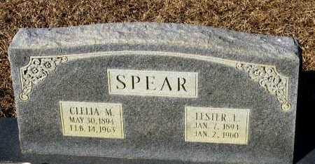 SPEAR, LESTER L. - Faulkner County, Arkansas | LESTER L. SPEAR - Arkansas Gravestone Photos