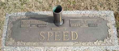 SPEED, LOU - Faulkner County, Arkansas | LOU SPEED - Arkansas Gravestone Photos