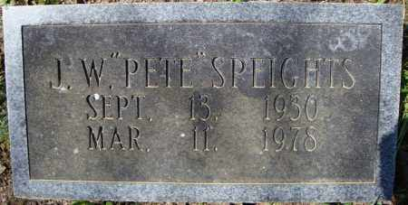 "SPEIGHTS, J.W. ""PETE"" - Faulkner County, Arkansas 