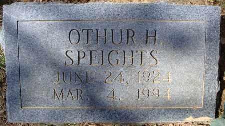 SPEIGHTS, OTHUR H. - Faulkner County, Arkansas   OTHUR H. SPEIGHTS - Arkansas Gravestone Photos