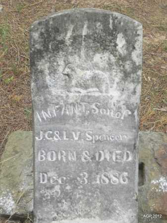 SPENCER, INFANT SON - Faulkner County, Arkansas | INFANT SON SPENCER - Arkansas Gravestone Photos