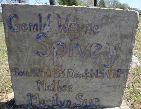 SPIVEY, GERALD WAYNE - Faulkner County, Arkansas | GERALD WAYNE SPIVEY - Arkansas Gravestone Photos