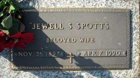 SPOTTS, JEWELL S. - Faulkner County, Arkansas | JEWELL S. SPOTTS - Arkansas Gravestone Photos