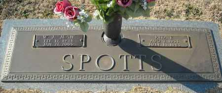 SPOTTS, W.J. - Faulkner County, Arkansas | W.J. SPOTTS - Arkansas Gravestone Photos
