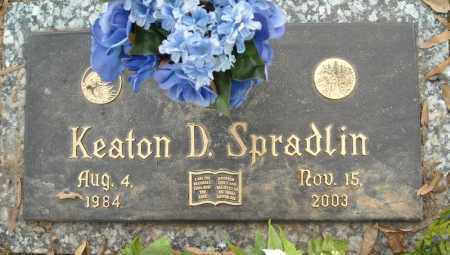 SPRADLIN, KEATON D. - Faulkner County, Arkansas | KEATON D. SPRADLIN - Arkansas Gravestone Photos