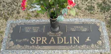BEENE SPRADLIN, OCRIE - Faulkner County, Arkansas | OCRIE BEENE SPRADLIN - Arkansas Gravestone Photos