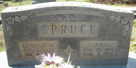 SPRUCE, MINNIE - Faulkner County, Arkansas | MINNIE SPRUCE - Arkansas Gravestone Photos