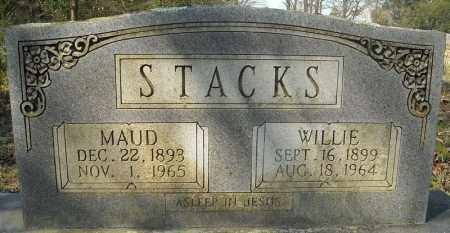 STACKS, WILLIE - Faulkner County, Arkansas | WILLIE STACKS - Arkansas Gravestone Photos
