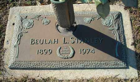 STANLEY, BEULAH L. - Faulkner County, Arkansas | BEULAH L. STANLEY - Arkansas Gravestone Photos
